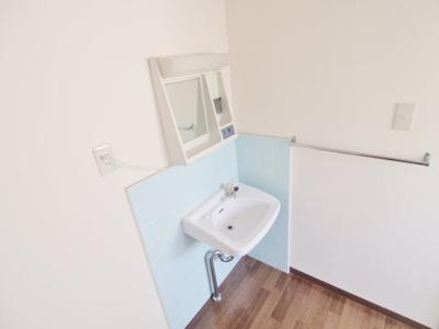 【洗面所】三宅第五アパート