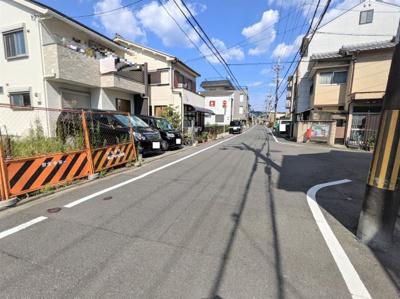 【前面道路含む現地写真】京都市伏見区深草仙石屋敷町