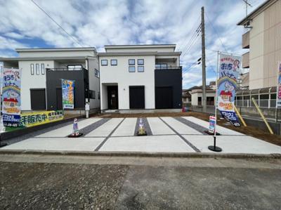 【区画図】龍ケ崎市佐貫2期 新築戸建  全3棟