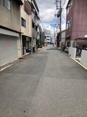 【前面道路含む現地写真】大阪市浪速区日本橋西1丁目 売地