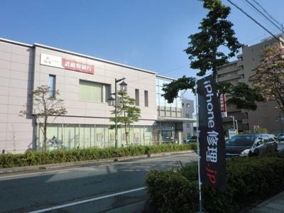 武蔵野銀行本庄支店まで1600m