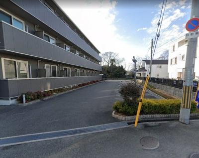 【外観】向丘3丁目月極駐車場