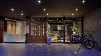 ・レンタルサイクル付き ・建物外観のイメージを最大限活かす外装・内装