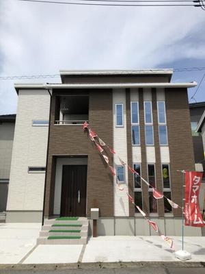 【外観】タマタウン宇都宮市雀の宮7丁目 新築未入居住宅