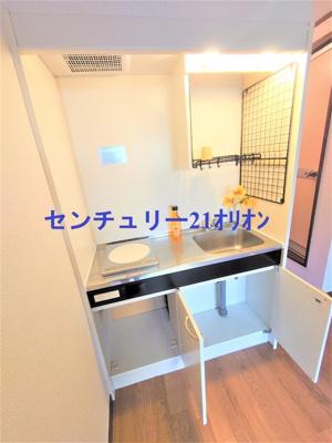 【キッチン】フラット練馬