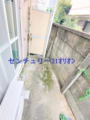 【バルコニー】フラット練馬