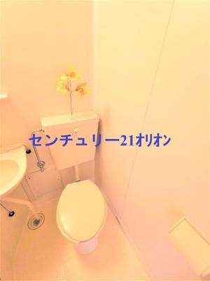 3点ユニットのトイレです