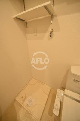 APRILE南森町(旧名:アスール南森町) 室内洗濯機置き場
