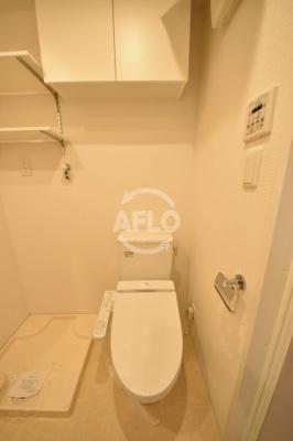 APRILE南森町(旧名:アスール南森町) トイレ