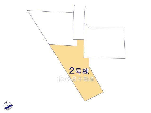 【区画図】岩槻区仲町2丁目7-21(2号棟)新築一戸建てリーブルガーデン