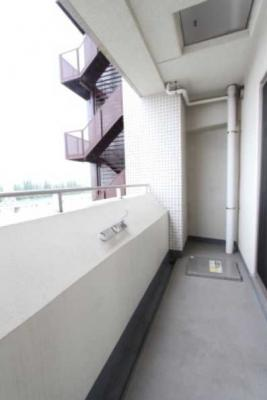【バルコニー】プラウドフラット三軒茶屋独立洗面台 浴室乾燥機 オートロック