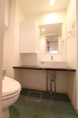 【洗面所】プラウドフラット三軒茶屋独立洗面台 浴室乾燥機 オートロック