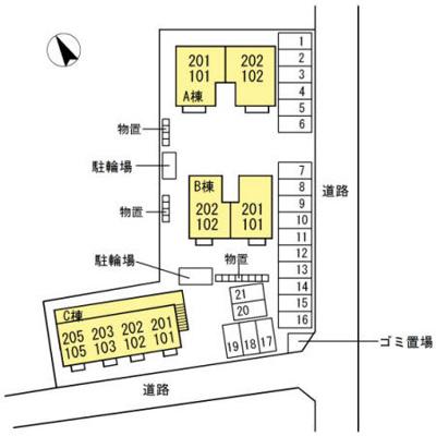 【区画図】ウィルコート水道橋 B