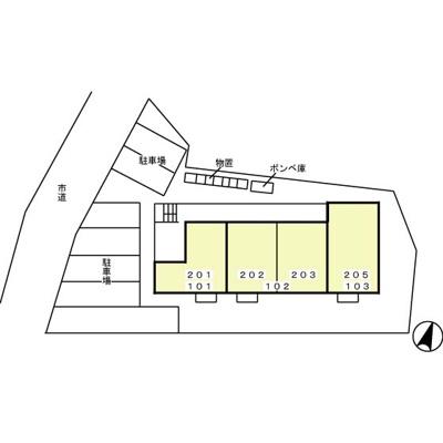 【区画図】アーバンハイツ