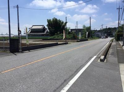 【前面道路含む現地写真】クレイドルガーデン下野市下古山第4 新築一戸建て
