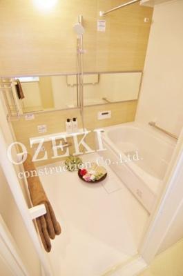 【浴室】レクセルプラッツァせんげん台 弐番館