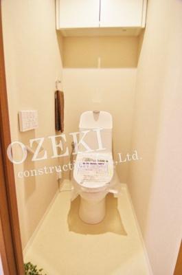 【トイレ】レクセルプラッツァせんげん台 弐番館