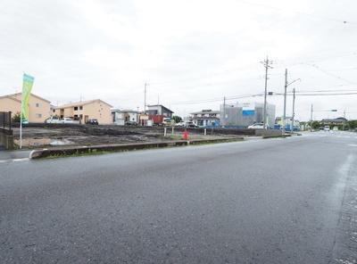 【前面道路含む現地写真】クレイドルガーデンさくら市上阿久津第7 新築一戸建て