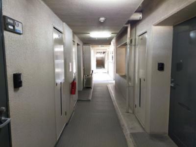 綺麗に清掃とお手入れがなされた廊下部分です。