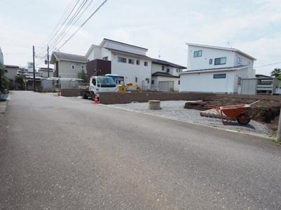 【前面道路含む現地写真】リーブルガーデン宇都宮西川田南第3 新築一戸建て