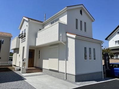 【外観:施工例】リーブルガーデン宇都宮西川田南第3 新築一戸建て