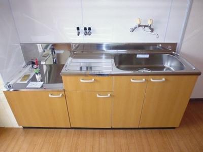【キッチン】中央マンション