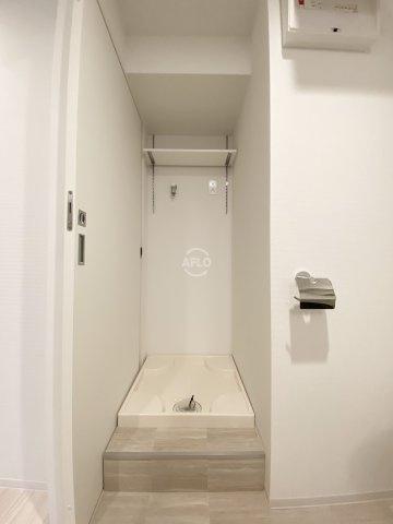 レジデンス難波南 室内洗濯機置場