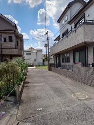 【前面道路含む現地写真】西東京市中町2丁目 建築条件付売地