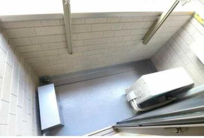 【バルコニー】サクラヴィレッジ ネット無料 バストイレ別 オートロック