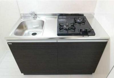 【キッチン】サクラヴィレッジ ネット無料 バストイレ別 オートロック