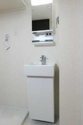 【洗面所】サクラヴィレッジ ネット無料 バストイレ別 オートロック
