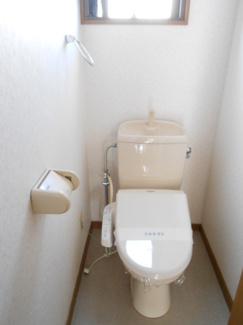 【トイレ】ブルーミングハイツ