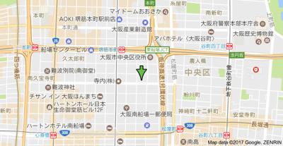 【地図】アーデンタワー本町イースト