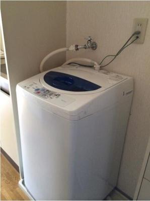 洗濯機あります