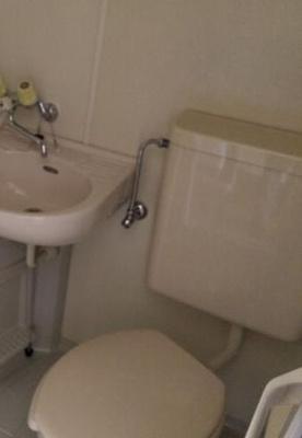 バストイレ同室です