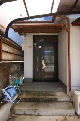 【玄関】西賀茂川上町貸家