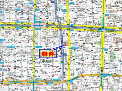 【地図】willDo堺筋本町