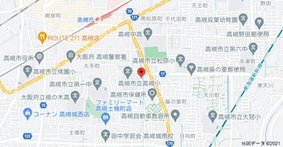 【地図】マンションサンプラザ1