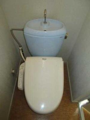 【トイレ】ベルデ 礼金0 Bフレッツ対応 バストイレ別