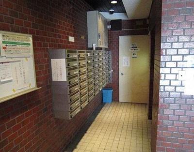 シャトレー渋谷のメールボックスです。