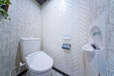 シャトレー渋谷のトイレです。