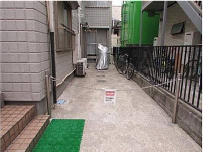 【その他共用部分】メゾンソレイユ 駅徒歩5分 南向き 室内洗濯機置場