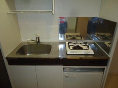【キッチン】メゾンソレイユ 駅徒歩5分 南向き 室内洗濯機置場