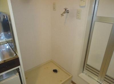 【設備】メゾンソレイユ 駅徒歩5分 南向き 室内洗濯機置場