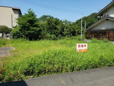 【前面道路含む現地写真】鳥取市気高町宝木土地④