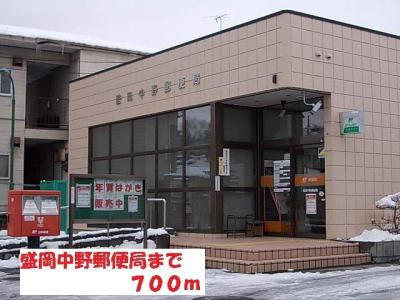 盛岡中野郵便局まで700m