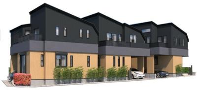 【完成予想図】北区志茂3丁目 新築戸建 B号棟 4580万円