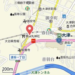【地図】フレンドリーハウス匠 大津逢坂