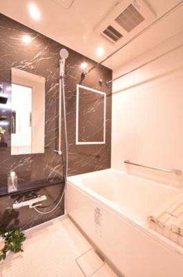 【浴室】仲介手数料無料■大島スカイハイツ  角部屋 専用庭付 リノベーション済