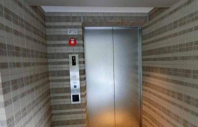 クラッシィハウス芝浦のエレベーターです